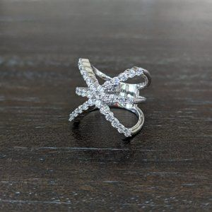 JTV Bella Luce Triple X Ring
